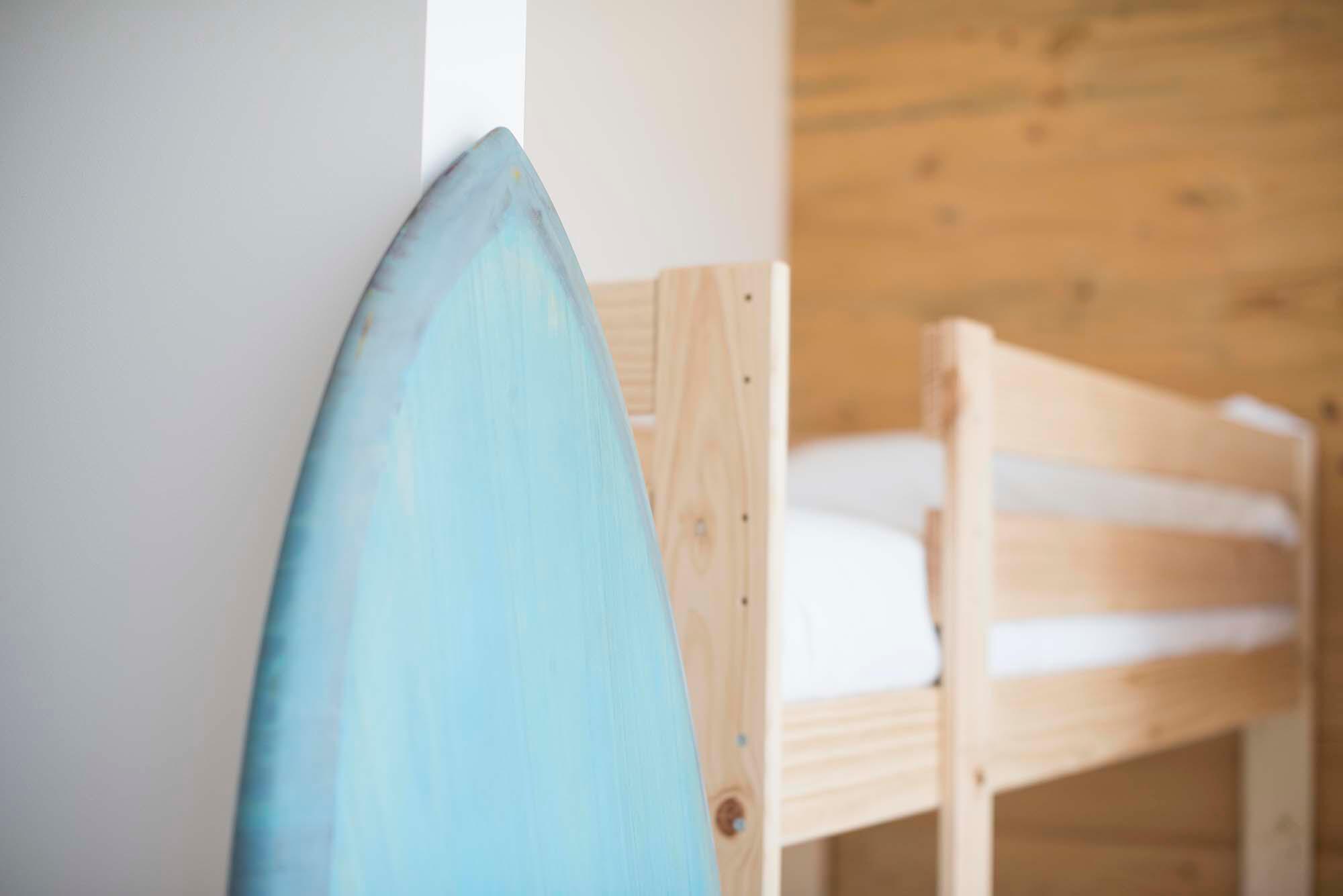 Habitación surf Hostel Sopelana Pais Vasco