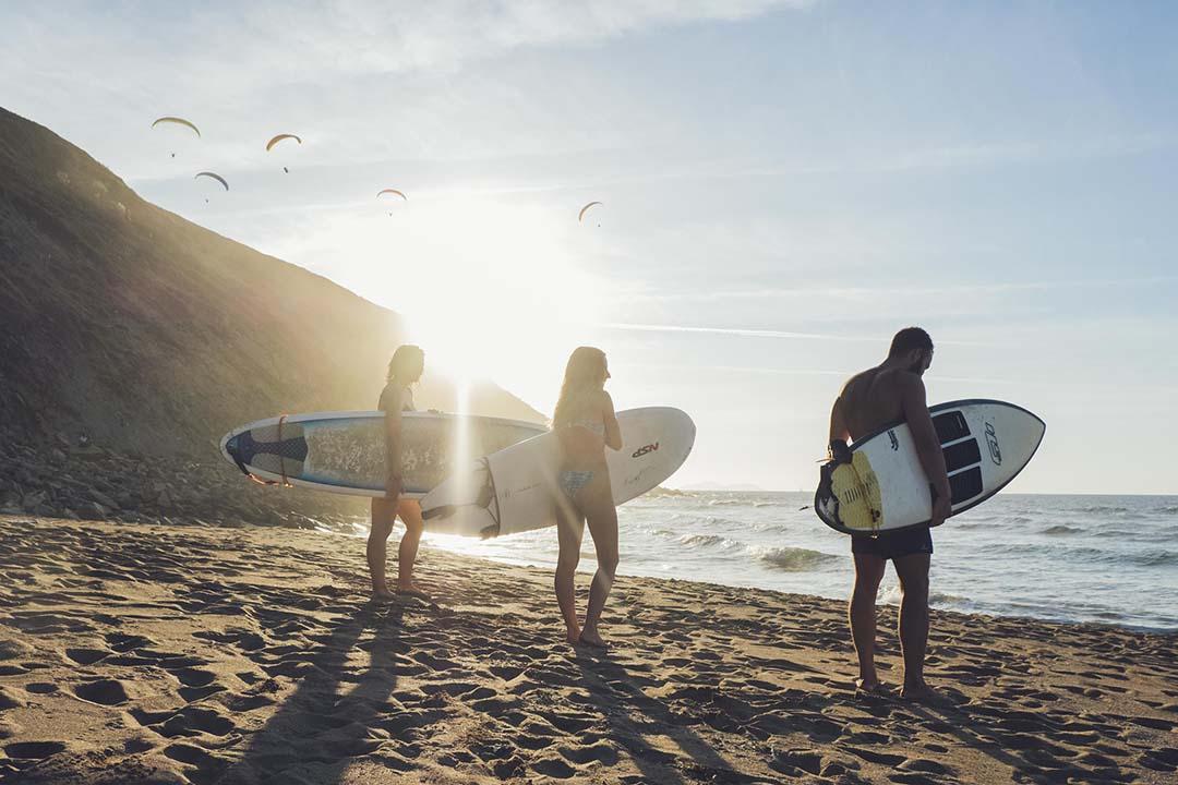 cursos de surf en Moana Surf House