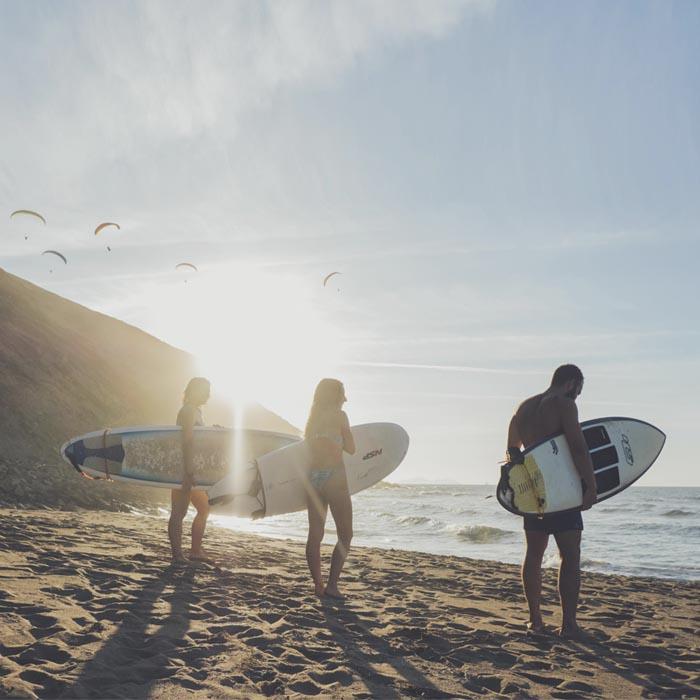 Campamento de surf Sopelana