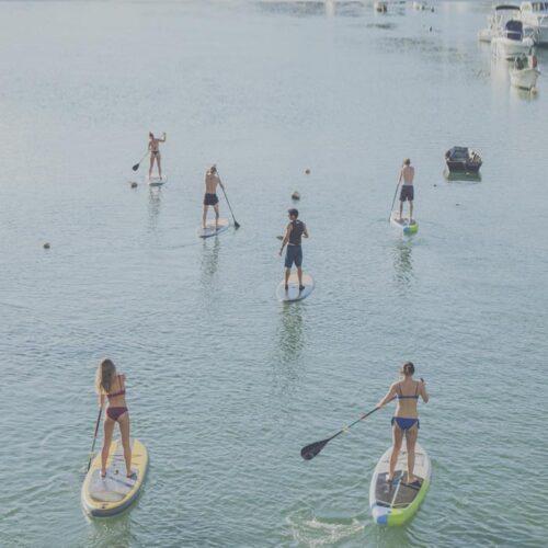 Paddle surf camp Bilbao